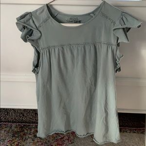 Grey-green Abercrombie & Fitch shirt